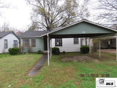 Single Family Home For Sale: 119 Riverbend Drive
