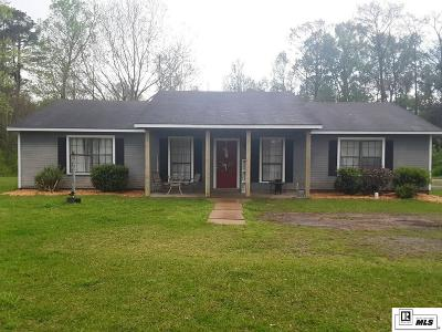 Jackson Parish Single Family Home For Sale: 9837 Highway 34