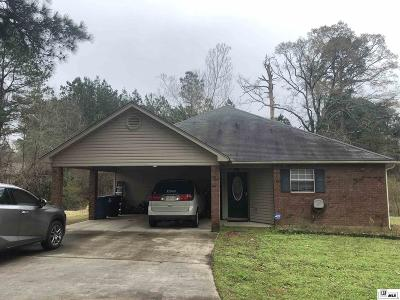 Ruston Single Family Home For Sale: 1507 Furman Street
