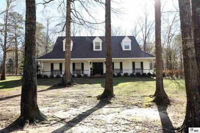 West Monroe Single Family Home Active-Pending: 110 Stan Wall Road