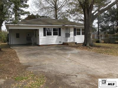 Single Family Home For Sale: 1002 Robinson Circle