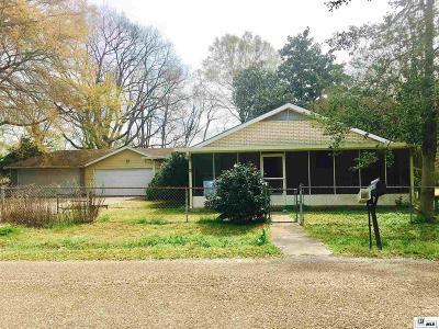 West Monroe Single Family Home New Listing: 115 Vinson Street
