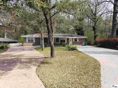 West Monroe Single Family Home New Listing: 109 Parkdale Drive