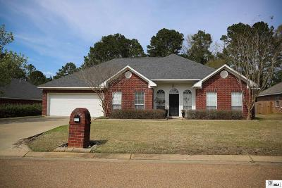 West Monroe Single Family Home New Listing: 104 Country Estates Drive