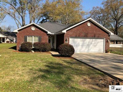 West Monroe Single Family Home New Listing: 123 E Restful Homes Road