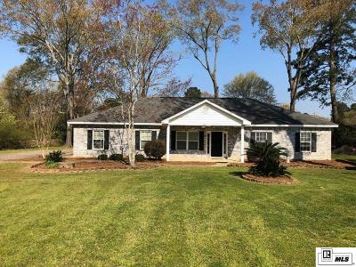 West Monroe Single Family Home New Listing: 121 E Restful Homes Road