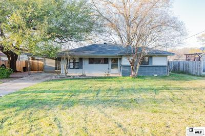West Monroe Single Family Home New Listing: 210 Louisiana Avenue