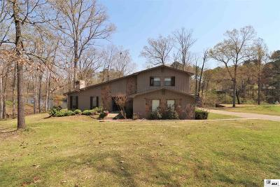 West Monroe Single Family Home New Listing: 159 Comanche Trail