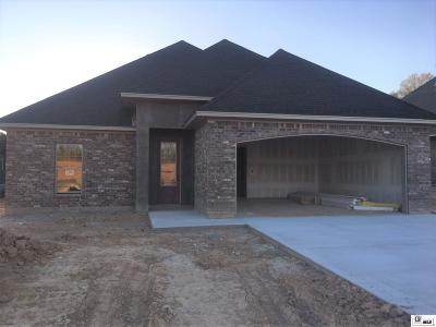West Monroe Single Family Home New Listing: 109 Aubree Circle