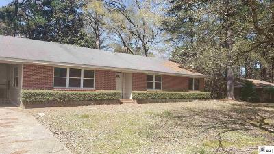 Ruston Single Family Home For Sale: 901 Rosalie Drive