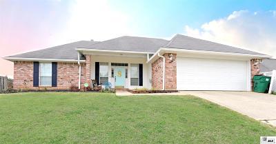 West Monroe Single Family Home New Listing: 120 Lake Powell Drive