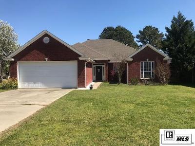 West Monroe Single Family Home New Listing: 425 Kendall Ridge Drive