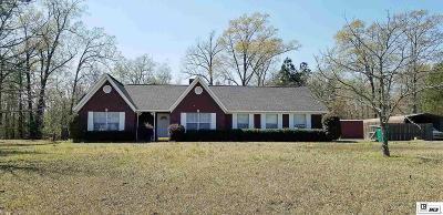 West Monroe Single Family Home New Listing: 111 Estates Drive