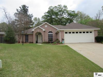 West Monroe Single Family Home New Listing: 113 Lark Lane