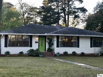 West Monroe Single Family Home New Listing: 2601 N 9th Street