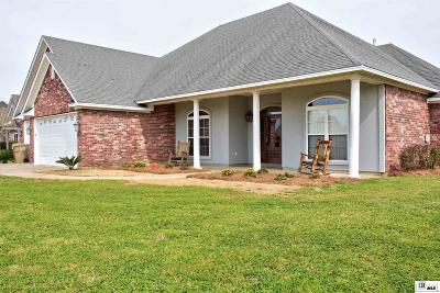 Monroe Single Family Home For Sale: 425 E Frenchmans Bend Road