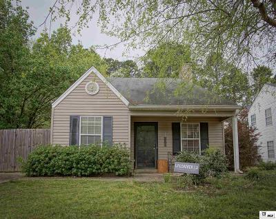 Lincoln Parish Single Family Home For Sale: 3901 High Pointe Drive