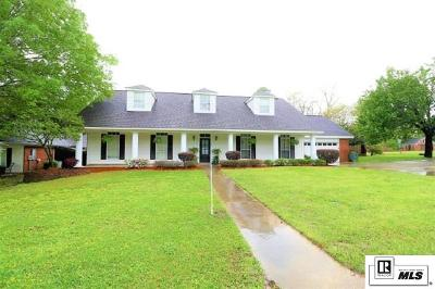 West Monroe Single Family Home For Sale: 100 Towering Oaks Drive
