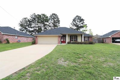 West Monroe Single Family Home Back On Market: 153 Greenfield Circle