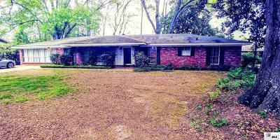 Monroe Single Family Home For Sale: 4322 Belle Terre Drive