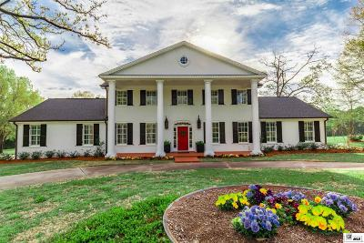 West Monroe Single Family Home For Sale: 900 Wallace Road