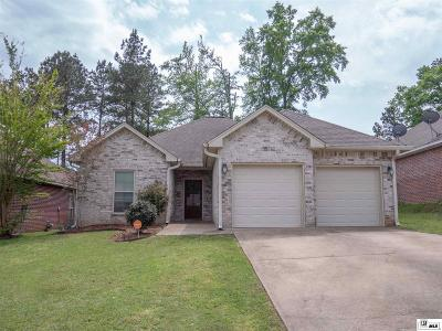 Lincoln Parish Single Family Home For Sale: 161 Markia Drive