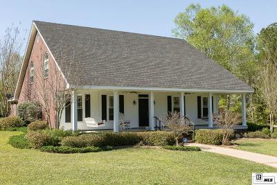 Dubach Single Family Home For Sale: 220 Pea Ridge Arena Road