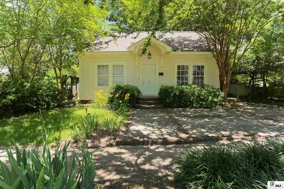Lincoln Parish Single Family Home Active-Pending: 407 S Bonner Street