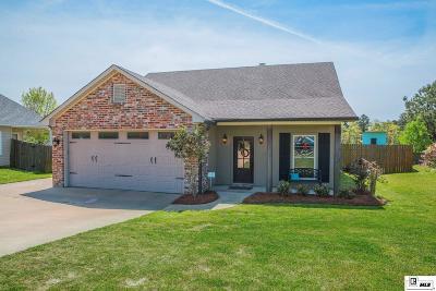 West Monroe Single Family Home Active-Pending: 509 Kendall Ridge Drive