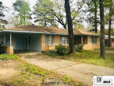 West Monroe Single Family Home For Sale: 314 New Natchitoches Road