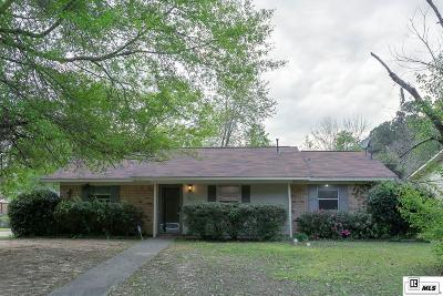 Lincoln Parish Single Family Home Active-Pending: 1801 Nancy Drive