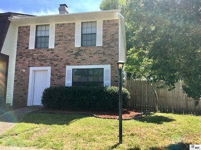 West Monroe Condo/Townhouse For Sale: 117 Westchase Drive