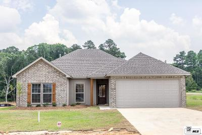Lincoln Parish Single Family Home For Sale: 1001 S Barnett Springs Road