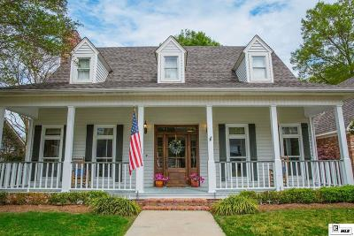 Monroe Single Family Home For Sale: 3508 Pegram Circle