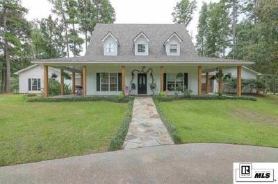 West Monroe Single Family Home For Sale: 116 Cheyenne Drive