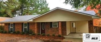 West Monroe Single Family Home Active-Pending: 102 Hillside Circle