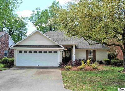 West Monroe Single Family Home Active-Pending: 126 Dove Drive
