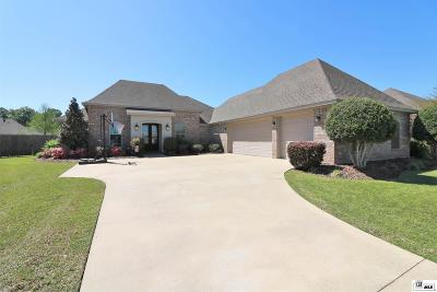 Monroe Single Family Home For Sale: 445 East Frenchman's Bend Road