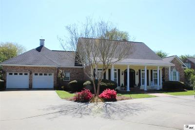 Monroe Single Family Home For Sale: 1460 Frenchmans Bend Road