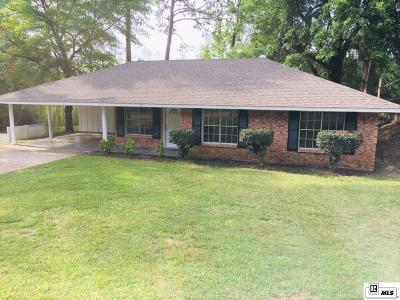 West Monroe Single Family Home For Sale: 117 Roxana Drive