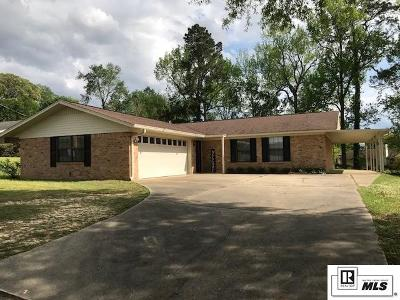 West Monroe Single Family Home For Sale: 3117 Arkansas Road