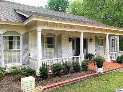West Monroe Single Family Home For Sale: 101 Bluff Drive