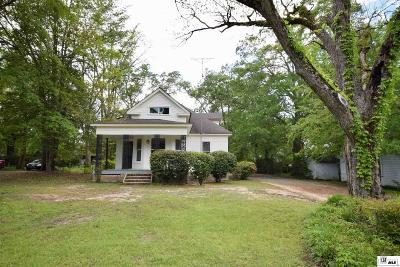 Lincoln Parish Single Family Home For Sale: 108 S Farmerville Street