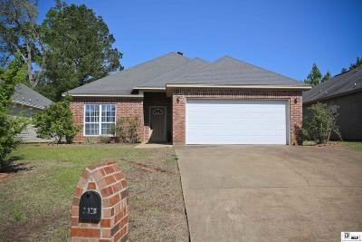 Lincoln Parish Single Family Home New Listing: 2312 Desiree Street