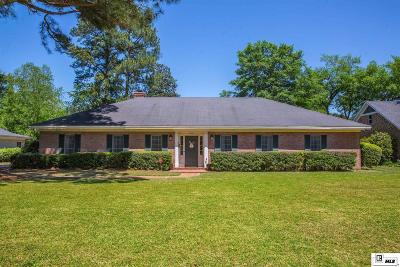 Monroe Single Family Home For Sale: 2605 Indian Mound Boulevard