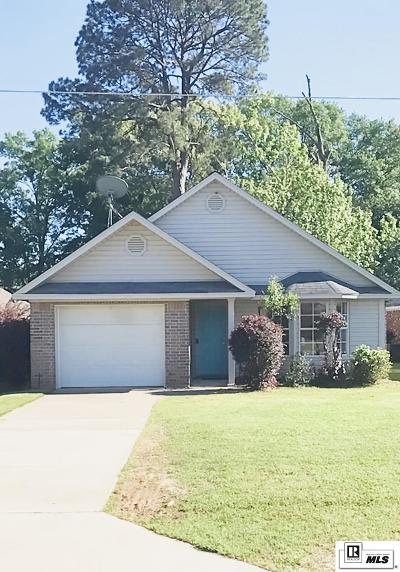 West Monroe Single Family Home For Sale: 125 Crocker Lane