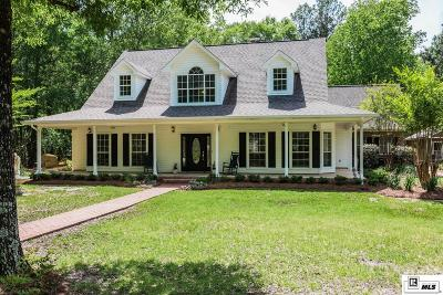Monroe Single Family Home For Sale: 1247 Swartz Fairbanks Road
