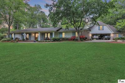 West Monroe Single Family Home For Sale: 1124 Wall Williams Road