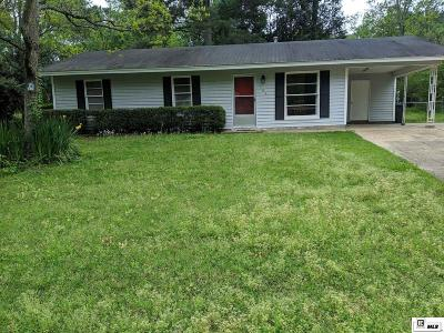 West Monroe Single Family Home Active-Pending: 102 Duncan Circle