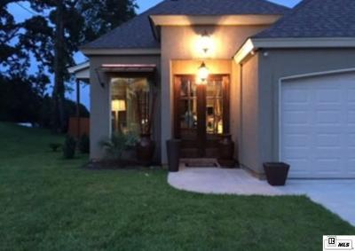 West Monroe Single Family Home New Listing: 128 Temecula Drive